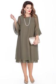 Платье TEZA 250 хаки