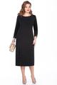 Платье TEZA 273 черный, размер 50-60