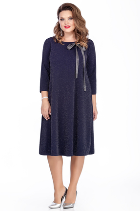 Платье TEZA 281 синий
