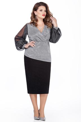 Комплект юбочный TEZA 283 серый
