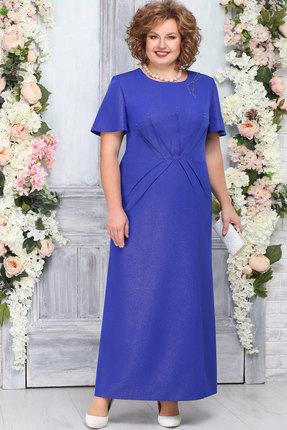 Платье Ninele 5756 василёк
