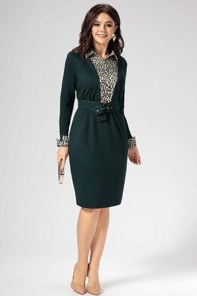 Платье Panda 452980 зеленый