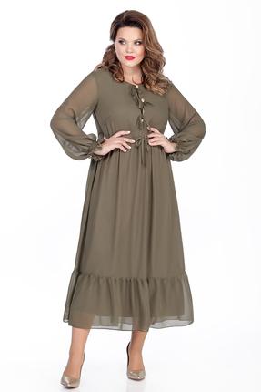 Платье TEZA 294 хаки