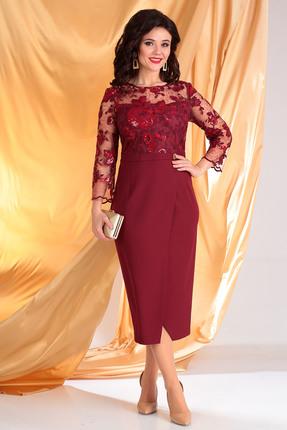 Платье Мода-Юрс 2444 бордо