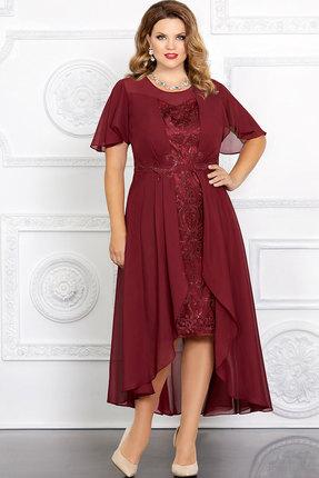Платье Mira Fashion 4655-3 красный