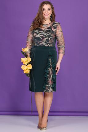 Платье Juliet Style D109 изумруд
