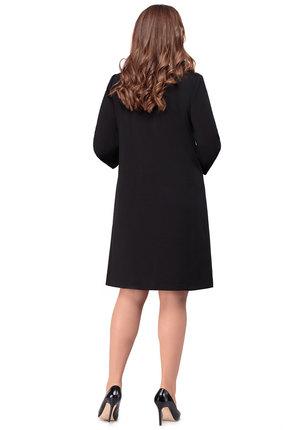 Фото 2 - Платье Дали 5426 черный черного цвета