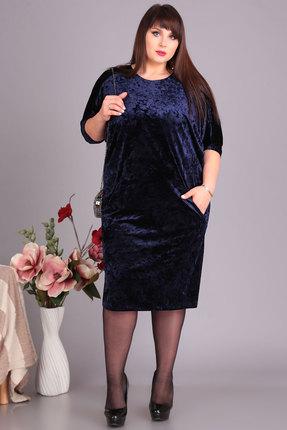 Платье Algranda 3383 синий Новелла Шарм