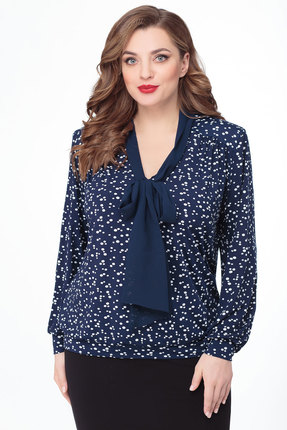 Блузка Дали 3277 синий
