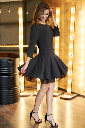 Платье Фантазия Мод 3622 черный