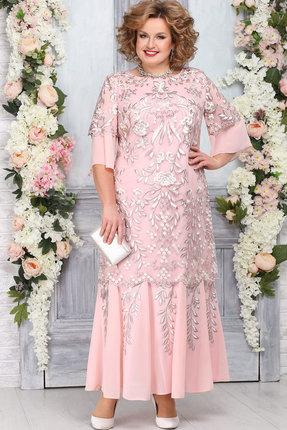 Платье Ninele 5747 пудра