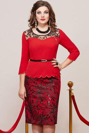 Платье Vittoria Queen 9363 красный