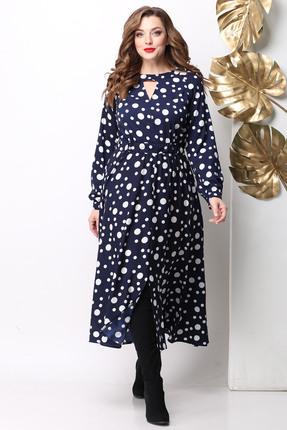 Платье Michel Chic 958 сине-белый