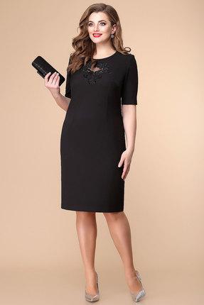 Платье Romanovich style 1-1930 черный