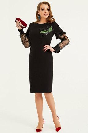 Платье Lissana 3887 черный