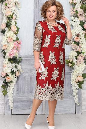 Платье Ninele 2232 красный