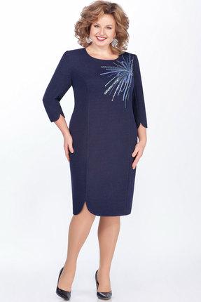 Платье LaKona 1273 синий