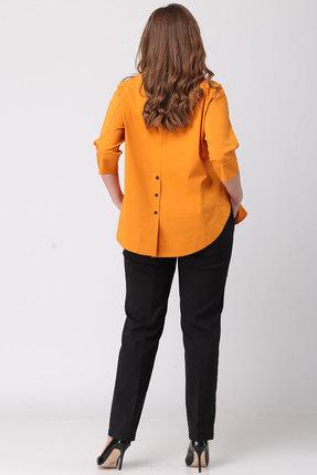Фото 5 - Блузку Danaida 1790 оранжевый оранжевого цвета