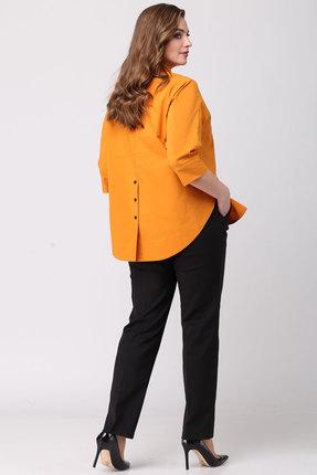 Фото 6 - Блузку Danaida 1790 оранжевый оранжевого цвета
