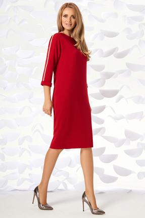 женское вечерние платье магия моды, красное