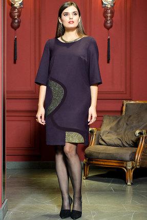Платье Faufilure с475 фиолетовый