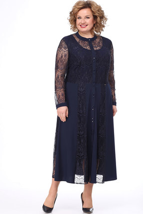 женское вечерние платье bonna image, синее