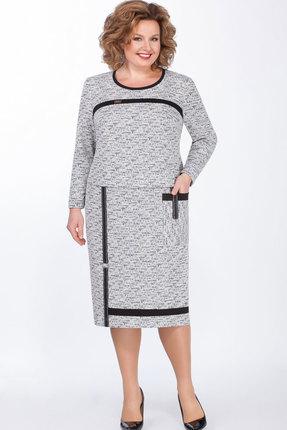 женское повседневные платье теллура-л, серое