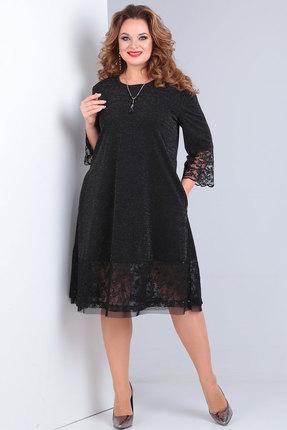 женское вечерние платье andrea style, черное