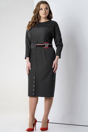 женское повседневные платье olegran, черное