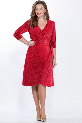 женское вечерние платье lakona, красное