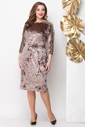 Платье Michel Chic 971 коричневые тона