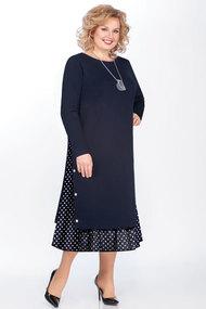 Платье БагираАнТа 594 синий