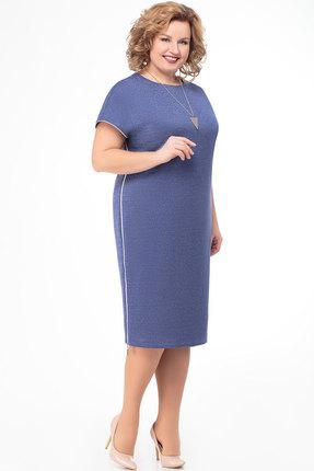 Платье KetisBel 1347т сиреневый