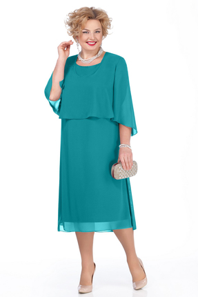 Платье Pretty 976 бирюзовый