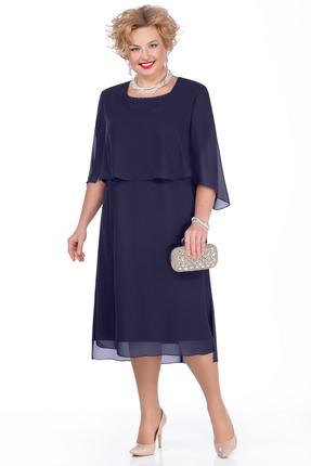 Платье Pretty 976 темно-синий