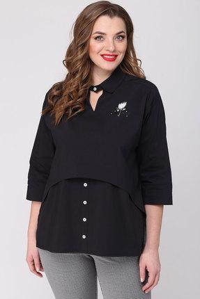 женская блузка danaida, черная