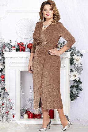 Платье Mira Fashion 4745 золото