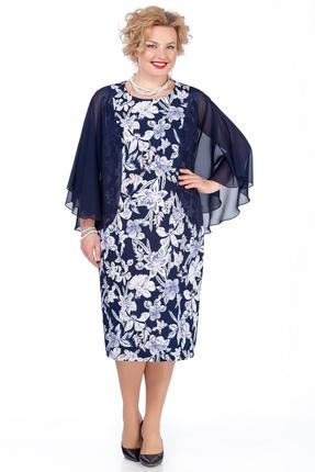 Платье Pretty 980 синий