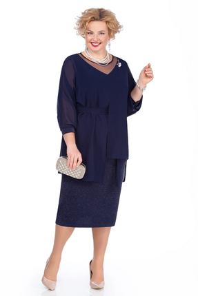 Платье Pretty 981 синий