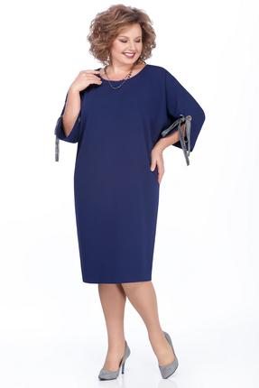 Платье Pretty 984 синий