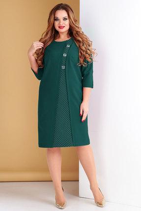 Платье Тэнси 280 зеленый