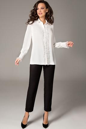 Блузка Teffi style 1472 молочный