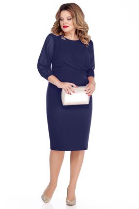 Платье TEZA 257 синий