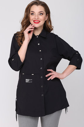 женская рубашка danaida, черная