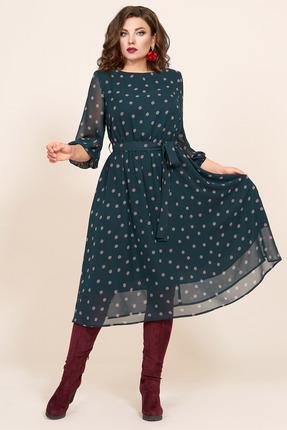 Платье Мублиз 423 зеленый