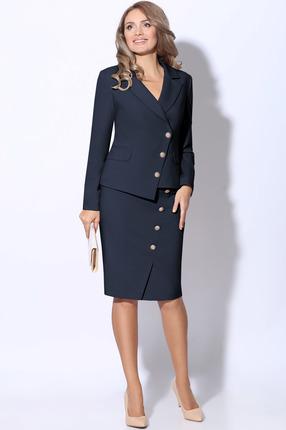 Комплект юбочный LeNata 21086 темно-синий
