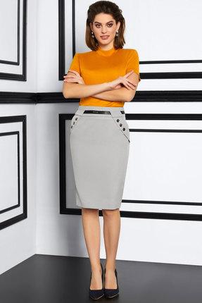 женская юбка lissana, серая