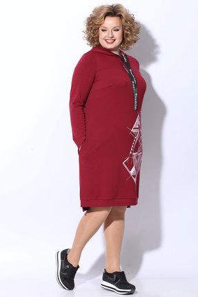 женское повседневные платье ladis line