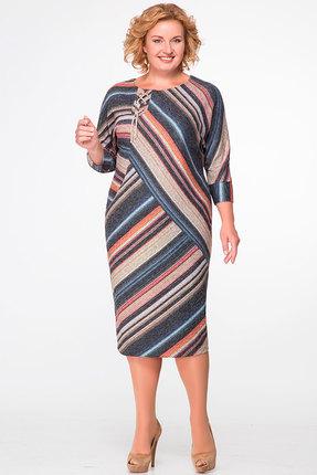 женское повседневные платье avanti erika, разноцветное