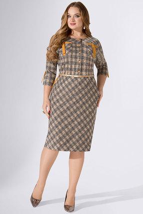 женское повседневные платье avanti erika, серое